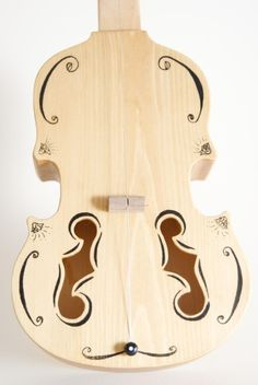 Handmade instruments with a twist.