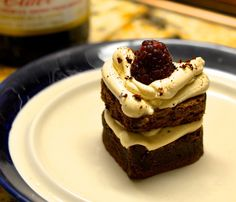 How to Make Raspberry Topped Espresso Brownies!