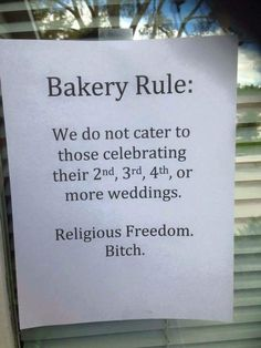"Best response I've seen to Indiana's ""Religious Freedom Act"" - Imgur"