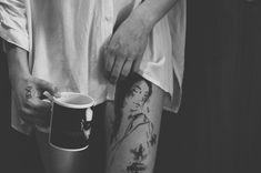 Tattoo and Manson Abstract, Tattoos, Tableware, Photography, Summary, Tatuajes, Dinnerware, Photograph, Tattoo