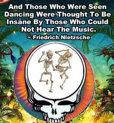 And the kids they dance and shake their bones....