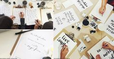 The colouring book has already had a renaissance, and now another old school pastime – calligraphy – is having its time in the spotlight.