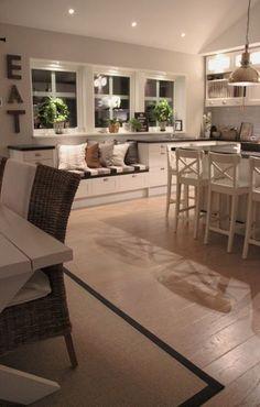 Art, Fire & Home Decor together at Maison & Objet Paris> Book I … - New Kitchen Decoration Kitchen Interior, Room Interior, Interior Design Living Room, Kitchen Decor, Kitchen Seating, Cosy Kitchen, Design Kitchen, Kitchen Dining, Style At Home