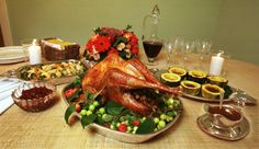 Healthy Thanksgiving recipeideas    The good folks over at the Mayo clinic have published a series of healthy recipes, to give us other healthier versions  of some holiday favorites.  It doesn't only have to be about turkey and smothered-in-gravy mashed potatoes, does it?    http://www.mayoclinic.com/health/thanksgiving-recipes/NU00643