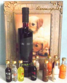 donneinpink- fai da te e consigli per gli acquisti: Liquori personalizzati - Bomboniere fai da te orig...