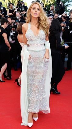The Best of the 2014 Cannes Film Festival Red Carpet - Blake Lively from #InStyle