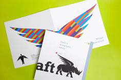 Direct Mailing // STARKRAFT Convenience Store, Wings, Feathers