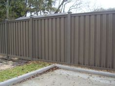 gray fence stain