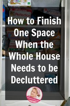 declutter Ive been asked a certain question many times since I published this post explaining how I have learned to declutter without making a bigger mess. The game-changing decluttering st Clutter Organization, Household Organization, Home Organization Hacks, Organizing Life, Declutter Home, Declutter Your Life, Declutter Bedroom, Getting Rid Of Clutter, Getting Organized