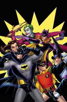 #Batman #And #Robin #Fan #Art. (Batman and Robin BATMAN '66: THE TV STORIES TP Cover) By: AMANDA CONNER. (THE * 5 * STÅR * ÅWARD * OF: * AW YEAH, IT'S MAJOR ÅWESOMENESS!!!™) ÅÅÅ+