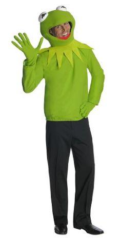 The Muppets Kermit Costume - http://www.specialdaysgift.com/the-muppets-kermit-costume/