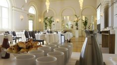 The Ballroom at The Angel Hotel, Abergavenny Angel, Table Decorations, Furniture, Home Decor, Decoration Home, Room Decor, Home Furnishings, Home Interior Design, Dinner Table Decorations