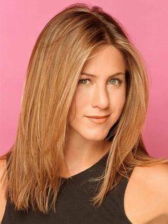 Jennifer Aniston schulterlange Haarfrisur