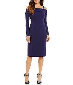 Eliza J ColdShoulder Sheath Dress #Dillards