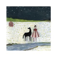 Though Evelyn knew the circus was her home print by Amanda Blake - Amanda Blake - Gallery