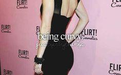 Being curvy