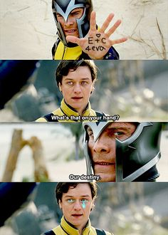 X-Men: First Class. And also their bromance.