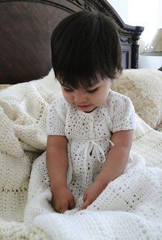 Baptism-beautiful handmade gown