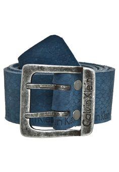 Cinto Calvin Klein Wild Azul