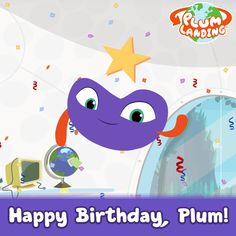It's Plum's birthday today! It was a year today when we launched PLUM LANDING. Thank you for joining us on the journey!
