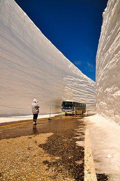 The Kurobe Alpine Route