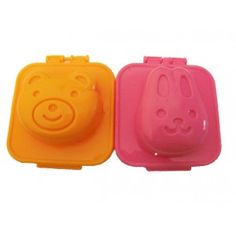 Bunny and Bear Egg Mold Set