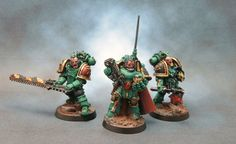 Gnostis Praeyd - Sons of Horus Commander with Command squad