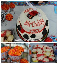 For R's Fire Station party!