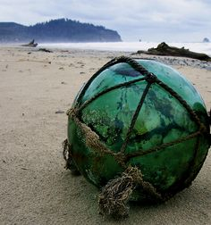 Glass Float - used to find these on the Oregon coast when visiting from Nebraska