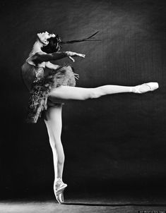 "Maria Tallchief performing ""Firebird"" at the NYC Ballet on September 19, 1963. (Photo by Jack Mitchell/Getty Images)"