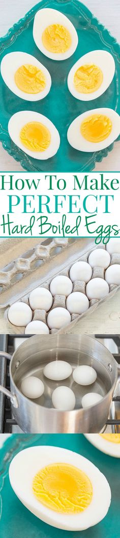 Averie Cooks How to Make Perfect Hard Boiled Eggs - Averie Cooks