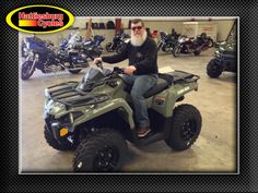 Thanks to Jerome Haggard from Pearl MS for getting a 2017 Can-Am Outlander 450 at Hattiesburg Cycles #canam