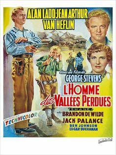 Jean Arthur cowgirl  | Homme des vallées perdues de George Stevens – Journal ...