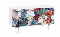 Flora Fabric 4 Drawer Chest | Wayfair UK