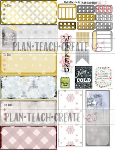 The Gaming Planner: Mini Winter and Batman layouts!