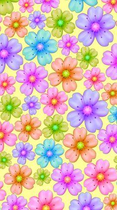 Flower Background Wallpaper, Cute Wallpaper For Phone, Flower Phone Wallpaper, Cellphone Wallpaper, Flower Backgrounds, Flower Wallpaper, Wallpaper Backgrounds, Colorful Backgrounds, Iphone Wallpaper