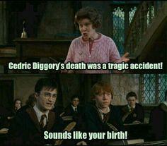 Wahre Worte, Harry. Wahre Worte...