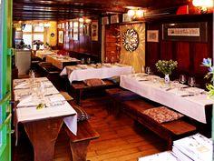 isebaehnli - Wystube Lokal, Zurich, Restaurants, Table Settings, Food, Wine Bars, Eten, Restaurant, Place Settings