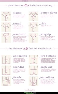 The Ultimate collar cuffs Fashion Vocabulary