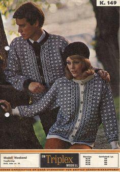 Månedens designer for desember er Ingrid Johnsen Norwegian Knitting, Color Combinations, Scandinavian, Knitting Patterns, Knit Crochet, Design Inspiration, Couple Photos, How To Make, Crocheting