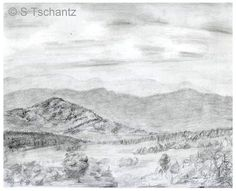 Do You Need Some Landscape Drawing Ideas?: A Classic Landscape