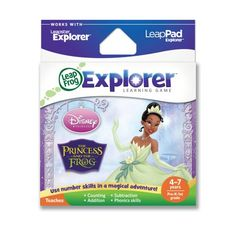 LeapFrog Explorer Disney The Princess and The Frog Learning Game ** See this great product.