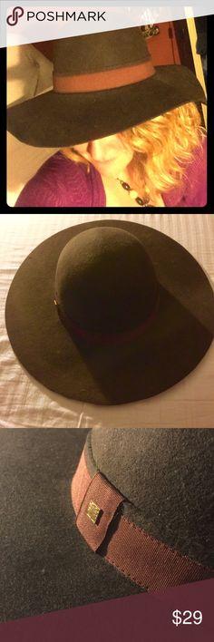Boho Chic Bohemian Wide Brim Brown Hat Happy Hippy Boho Chic Bohemian Wide Brim Brown Hat- your gonna love it- Liz Claiborne Accessories Hats