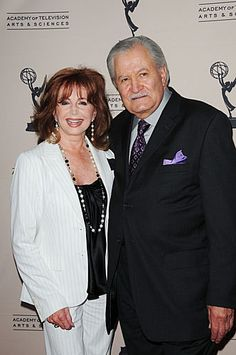 Suzanne Rogers and John Aniston Celebrating 45 Years of Days of our Lives #dool