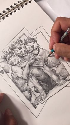 Of our classic 2 of a kind design ogabel sketch videos в 2019 г. Art Drawings Sketches, Tattoo Sketches, Cartoon Drawings, Easy Drawings, Pencil Drawings, Pencil Art, Sketch Video, Projects For Kids, Art Projects