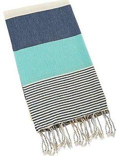 Paramus 100% Turkish Cotton Turkish Peshtemal Hamam Towel Wrap Pareo Fouta