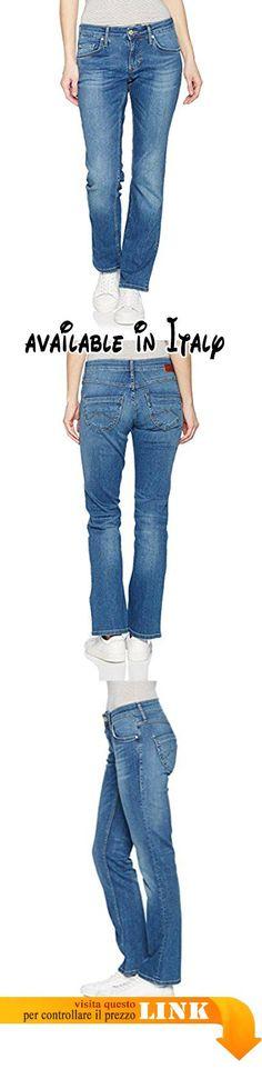 B01MG91OL8 : Hilfiger Denim Low Rise Straight Viola Powst Jeans Donna Blu  (Poison Washed Stretch) W29/L30 (Taglia Produttore: 3029).