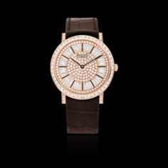 Piaget #Altiplano Rose Gold Diamond #Watch