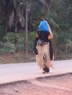 Traditional Masquerade. Enugu, Nigeria.