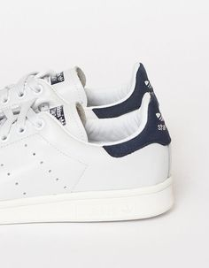 "aestheticbullshit: "" the-lowdown: "" Adidas Stan Smith Navy "" STANS. """
